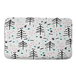 Deny Designs Zoe Wodarz Winter Wander Memory Foam Bath Mat