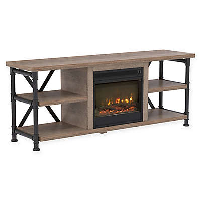 Bell'O® Irondale TV Stand in Driftwood