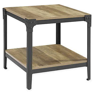 Forest Gate Wheatland Industrial Modern Wood Coffee Table (Set of 2)