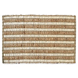 3'4 x 5' Jute and Cotton Area Rug in Natural
