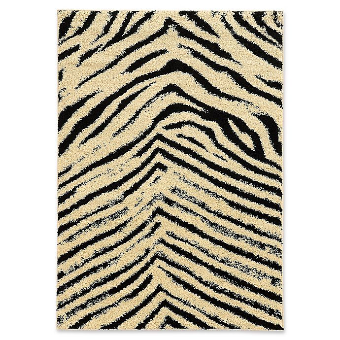 Alternate image 1 for Linon Home Moroccan Sahara 8' x 10' Area Rug in Ivory