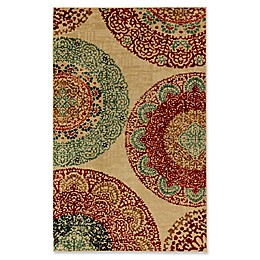 Mohawk Home Strata Lacey Medallions Rug in Rainbow