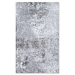 Couristan Field Stone Serenity 6'6 x 9'6 Area Rug in Mushroom/Opal