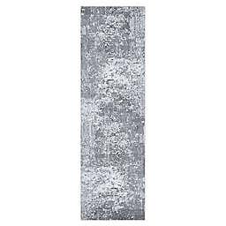 Couristan Field Stone Serenity 2'2 x 7'10 Runner in Mushroom/Opal