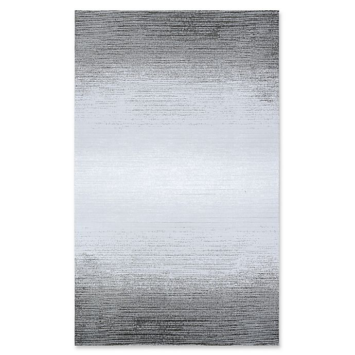 Alternate image 1 for Couristan® Weathered Stripe 9'2 x 12'9 Area Rug in Mushroom/Opal