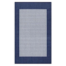 Couristan® Checkered Field Rug in Indigo/Navy