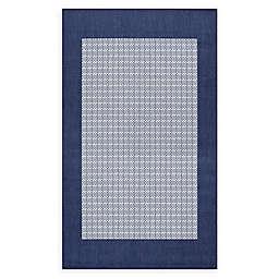 Couristan® Checkered Field 7'6 x 10'9 Area Rug in Natural/Cocoa