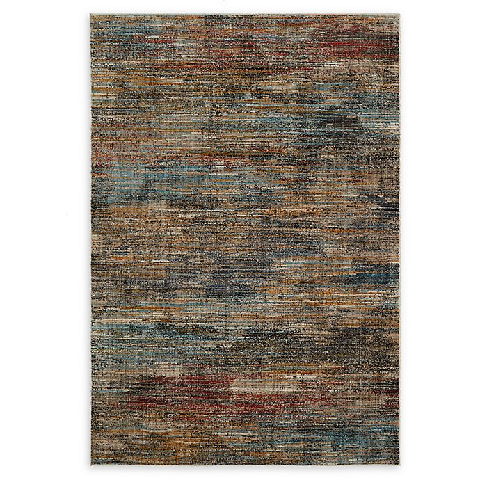 Alternate image 1 for O&O by Olivia & Oliver™ Abstract Stripe Woven 2'6 x 3'10 Area Rug in Multi