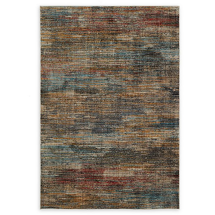 Mohawk Home Abstract Stripe Area Rug In Multi Bed Bath