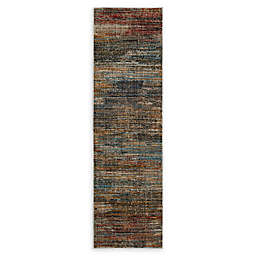 O&O by Olivia & Oliver™ Abstract Stripe Woven 2' x 7' Area Rug in Multi