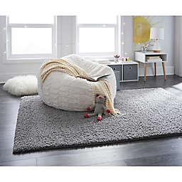 "Mohawk Carpet Wind Drift 60"" x 84"" Rug in Grey"