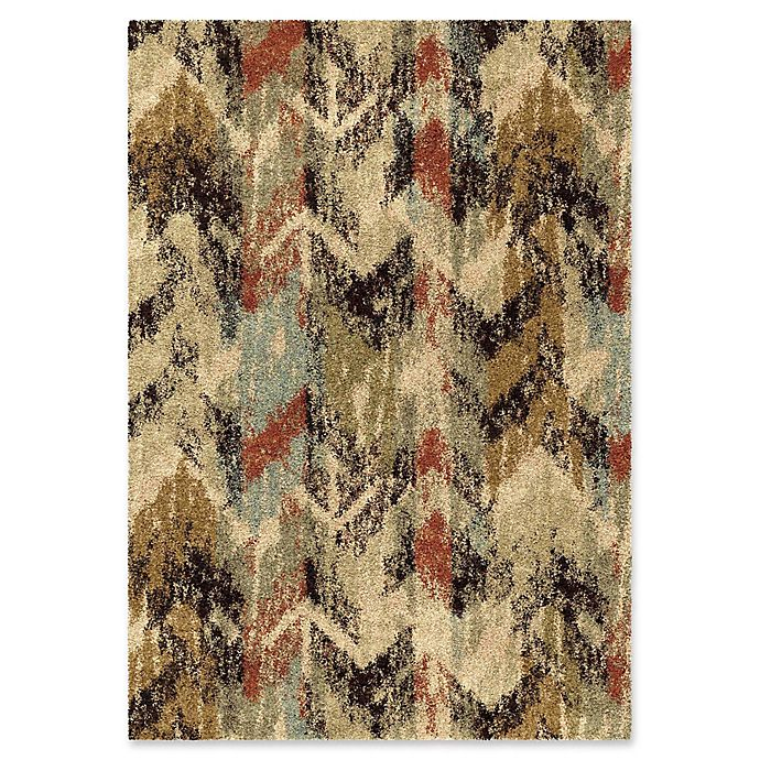 Alternate image 1 for Orian Rugs Wild Weave Distressed Chevron Area Rug