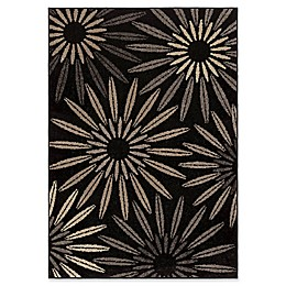 Orian Rugs Halley Area Rug in Black