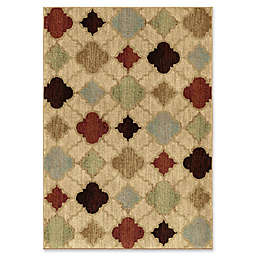 Orian Rugs Heritage Malkbeck Bisque Woven Area Rug in Multi