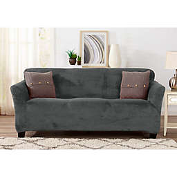 Sofa Saver Velvet Gale Strapless Slipcover
