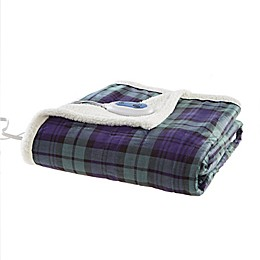 Woolrich Brew Heated Throw Blanket