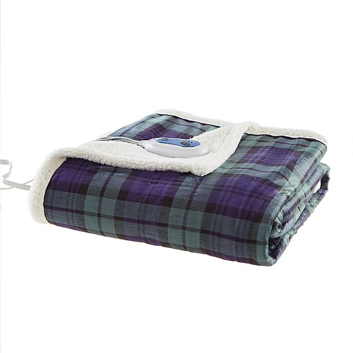 Alternate image 1 for Woolrich Brew Heated Throw Blanket