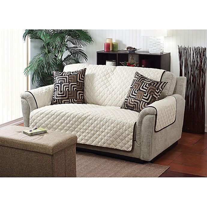 Alternate image 1 for Home Details Reversible Sofa Cover