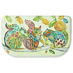 Bacova Embroidery Squirrels 18-Inch x 30-Inch Memory Foam Kitchen Mat