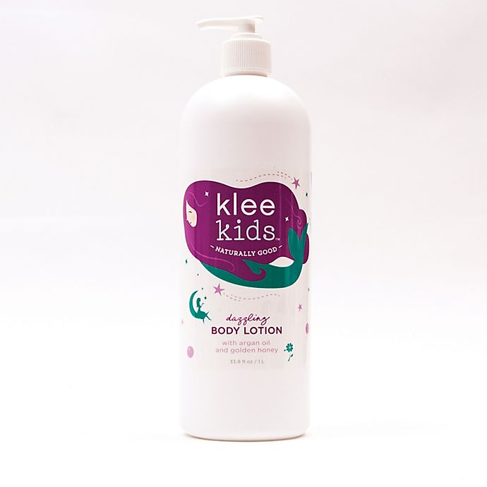 Alternate image 1 for Luna Star Naturals Klee Kids 33.5 oz. Dazzling Body Lotion with Argan Oil and Honey