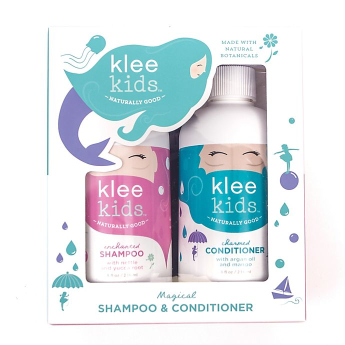 Alternate image 1 for Luna Star Naturals Klee Kids Enchanted Shampoo and Charmed Conditioner Gift Set