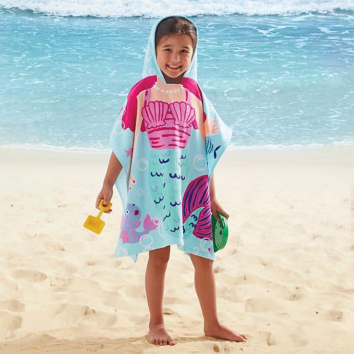 Alternate image 1 for Kids' Hooded Mermaid Towel