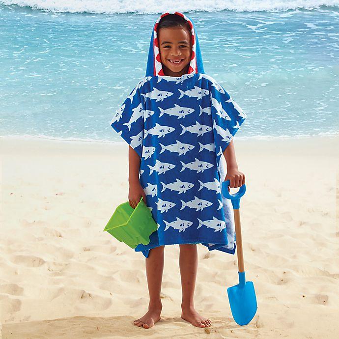 Alternate image 1 for Kids' Hooded Shark Towel