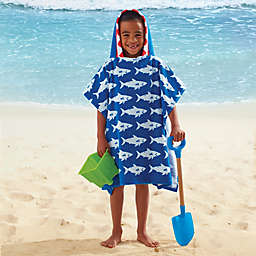 Kids' Hooded Shark Towel