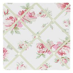 Sweet Jojo Designs Riley's Roses Fabric Memo Board