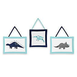 Sweet Jojo Designs® Mod Dinosaur 3-Piece Wall Hanging Set