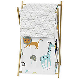 Sweet Jojo Designs Mod Jungle Laundry Hamper