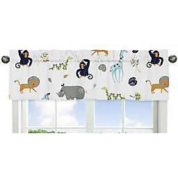 Sweet Jojo Designs Mod Jungle Safari Animal Print Window Valance