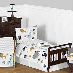 Sweet Jojo Designs Mod Jungle 5-Piece Toddler Bed Set