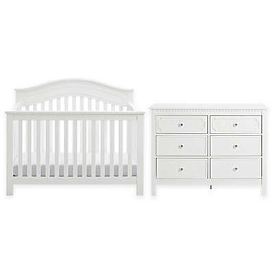 Baby Relax Rivers Nursery Furniture Collection in White