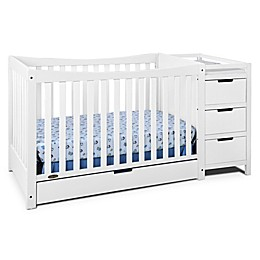 Graco® Remi 4-in-1 Convertible Crib and Changer in White