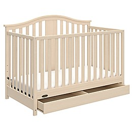 Graco® Solano 4-in-1 Convertible Crib with Drawer in White Wash