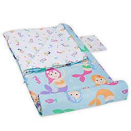 Olive Kids Mermaids 3-Piece Sleeping Bag Set in Aqua