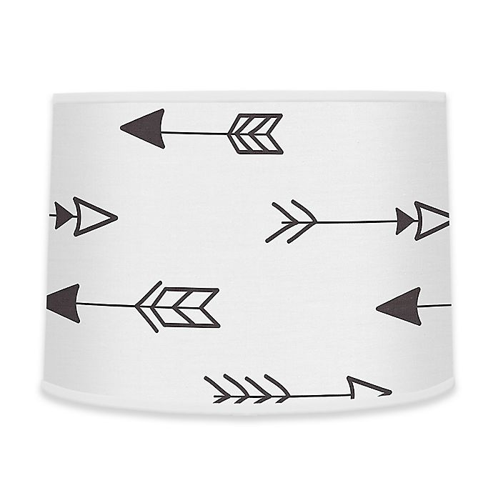 Alternate image 1 for Sweet Jojo Designs® Fox Arrow Print Lamp Shade