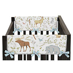 Sweet Jojo Designs Woodland Toile Short Rail Guards (Set of 2)