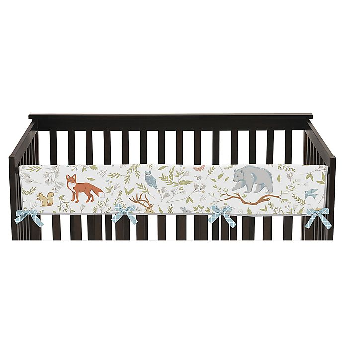 Alternate image 1 for Sweet Jojo Designs Woodland Toile Long Rail Guard