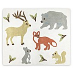 Sweet Jojo Designs Woodland Toile 30-Inch x 36-Inch Accent Floor Rug