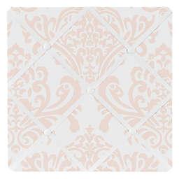 Sweet Jojo Designs Amelia Damask Memo Board in Pink/White