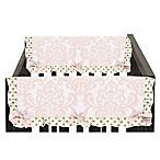 Sweet Jojo Designs Amelia Side Crib Rail Covers in Pink/Gold (Set of 2)