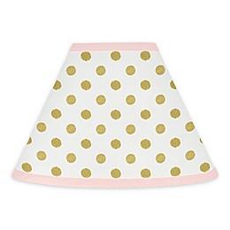 Sweet Jojo Designs Amelia Lamp Shade in Pink/Gold