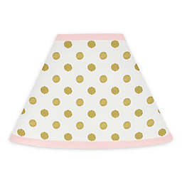 Sweet Jojo Designs Amelia Lamp Shade in Pink/Gold