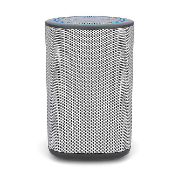 Alternate image 1 for Vaux Carbon Portable Speaker + Battery for Amazon Echo Dot