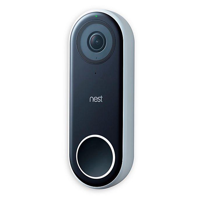 Alternate image 1 for Google Nest Hello Video Doorbell in White