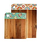 Fiesta® 2-Piece Decal Cutting Board Set