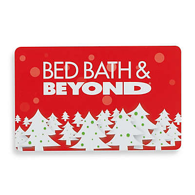 Holiday Christmas Trees Gift Card