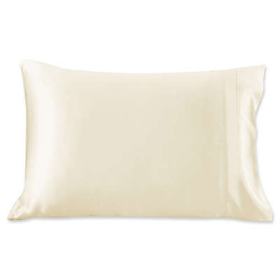 Silk Standard Pillowcase in Off White